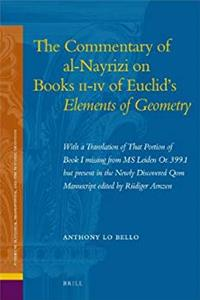 Download The Commentary of al-Nayrizi on Books II-IV of Euclid's Elements of Geometry (Studies in Platonism, Neoplatonism, and the Platonic Tradition) djvu
