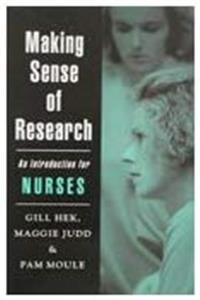Download Making Sense of Research: An Introduction for Nurses djvu