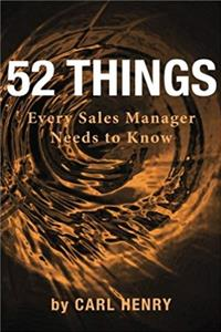 Download 52 Things Every Sales Manager Needs To Know djvu