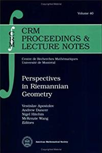Download Perspectives in Riemannian Geometry (Crm Proceedings  Lecture Notes, V. 40) (Crm Proceedings and Lecture Notes) djvu