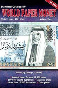 Download Standard Catalog of World Paper Money: Modern Issues 1961-Date (Standard Catalog of World Paper Money: Vol.3: Modern Issues) djvu