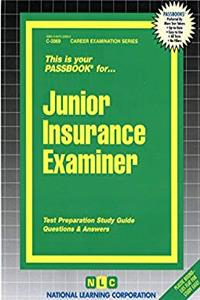 Download Junior Insurance Examiner(Passbooks) djvu