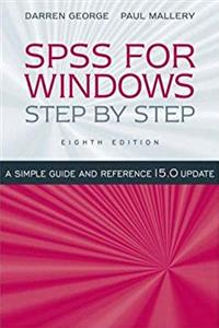 Download SPSS for Windows Step-by-Step: A Simple Guide and Reference, 15.0 Update (8th Edition) djvu
