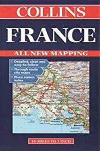 Download Collins France Road Map (Collins European Road Maps) djvu
