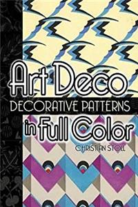 Download Art Deco Decorative Patterns in Full Color (Dover Pictorial Archive) djvu